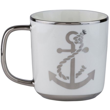 10 Strawberry Street 14 oz. Aspen Anchor Mug