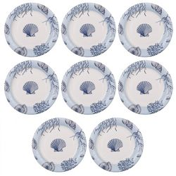 Boston International 8-pk. Shore Thing 8'' Plates