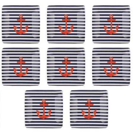 Boston International 8-pk. Yacht Club Paper Plates