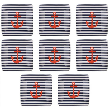Boston International 8-pk. Yacht Club Paper Plates