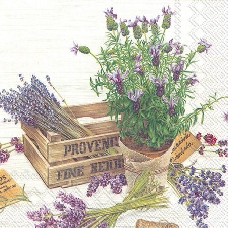 Boston International 20-pk. Provence Napkins