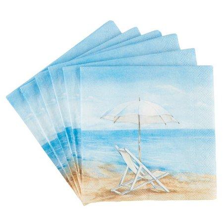 Boston International 40-Pk. Blue Horizon Napkins