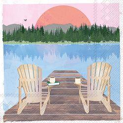 Boston International 20-pk. Lake Chairs Napkins