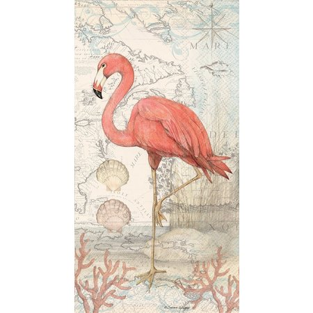 Boston International 16-pk. Flamingo Napkins