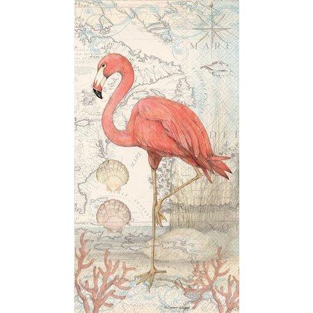Boston International 16-pk. Flamingo Napkins