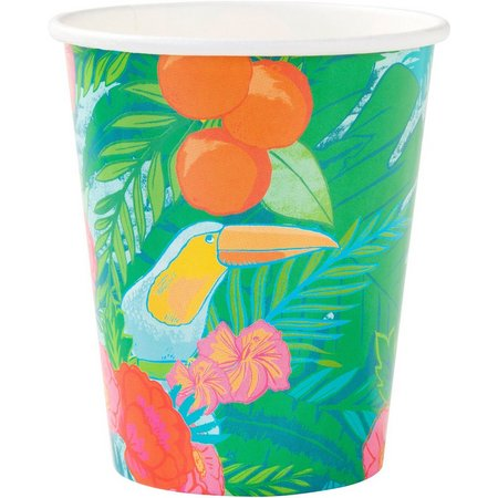 Talking Tables 12-pk. Tropical Fiesta Paper Cups