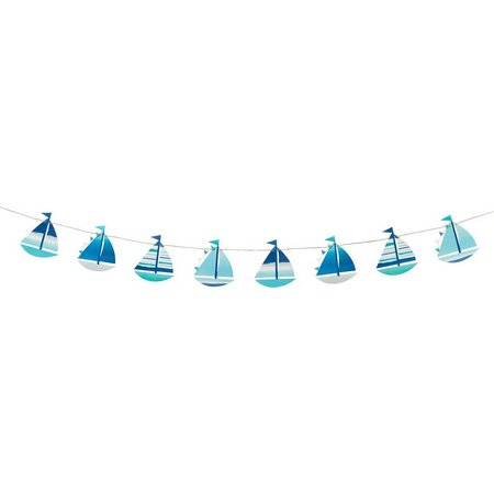 Talking Tables Coastal Boat Garland