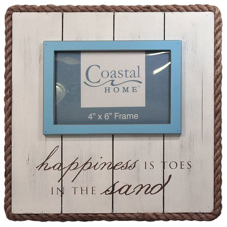 Coastal Home 4'' x 6'' Toes In The