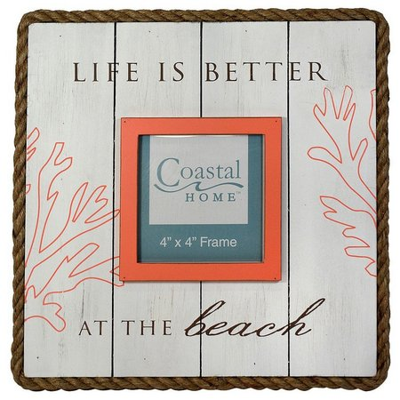 Coastal Home 4'' x 4'' Life Is Better
