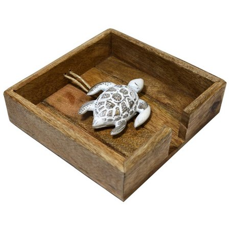 Coastal Home Turtle Napkin Holder