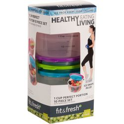 Fit & Fresh 10-pc. 1 Cup Perfect Portion