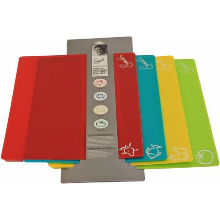 Emeril 4-pc. Non-Skid Cutting Mat Set