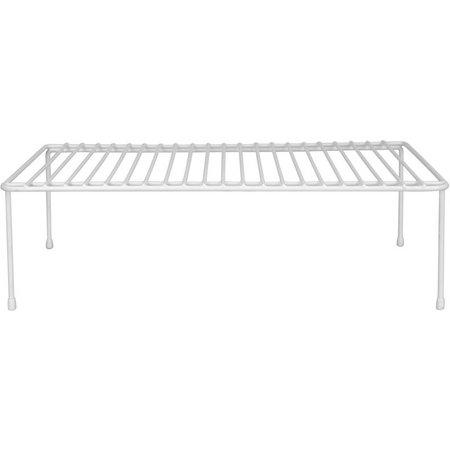 Home Basics White Vinyl Heavyweight Helper Shelf