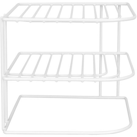 Home Basics Vinyl Corner Rack