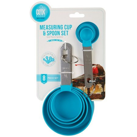 Art and Cook 8-pc. Measuring Cup & Spoon