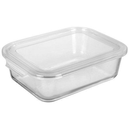 Bino 51.4 oz. EasySnap Glass Storage Container