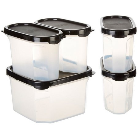 Bino 5-pc. Stackable Pantry Storage Container Set