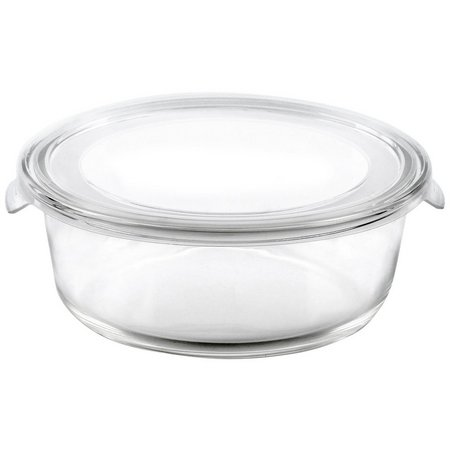 Bino 13.5 oz. Round Glass Storage Container