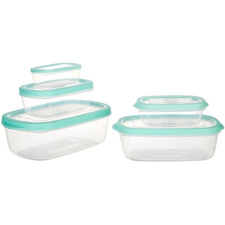 Bino 10-pc. Rectangular Storage Set