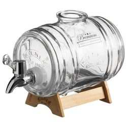Kilner 34 oz. Glass Keg Liquor Dispenser
