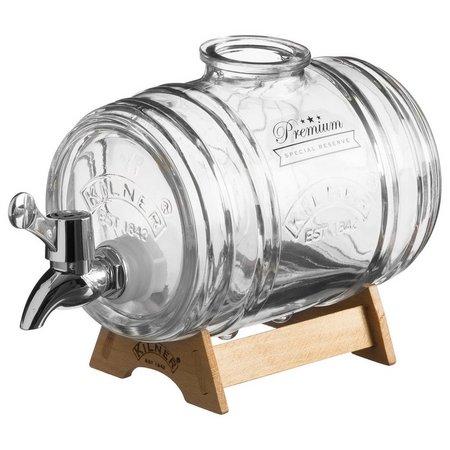 Kilner 34 oz. Glass Keg Liquor Dispenser