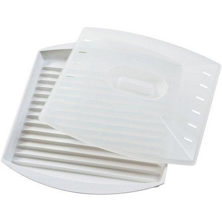 Progressive Prep Solutions Microwave Grill & Cover