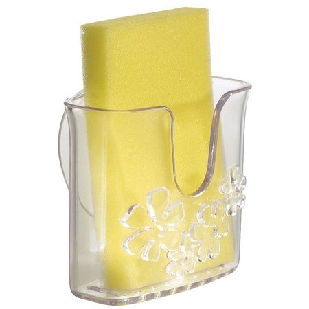 Interdesign Clear Suction Sponge Holder