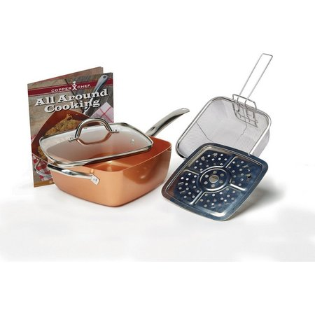 As Seen On T.V. 5-pc. Copper Chef Fry