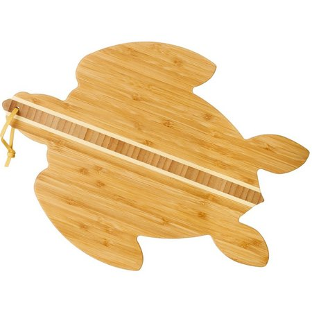 Totally Bamboo Sea Turtle Cutting & Serving Board