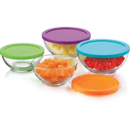 Libbey Moderno 8-pc. Storage Bowl Set