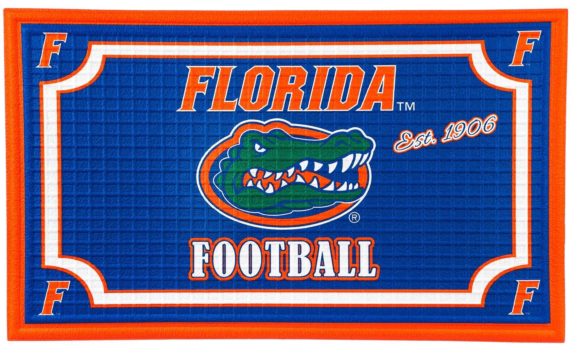 Florida Gators Embossed Door Mat By Evergreen