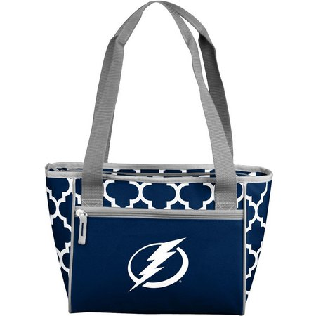 Tampa Bay Lightning 16 Can Cooler by Logo