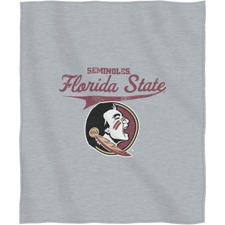 Florida State Sweatshirt Throw Blanket