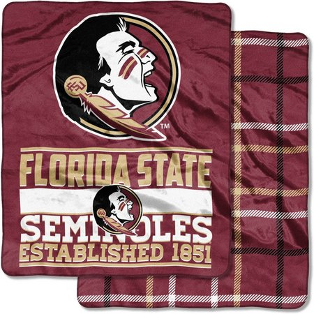 Florida State Double Sided Throw Blanket
