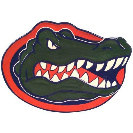 Florida Gators Gator Head Plate By Magnolia Lane