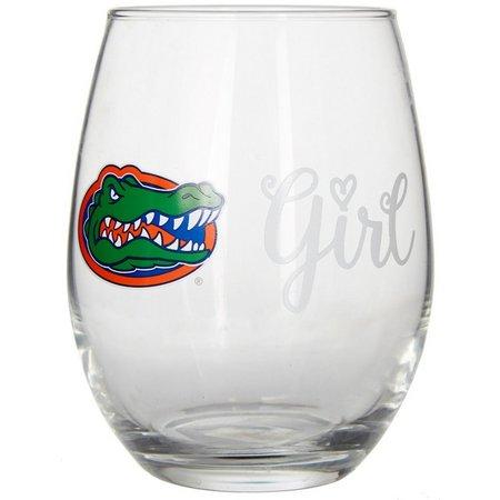 Florida Gators 15 oz. Stemless Wine Goblet