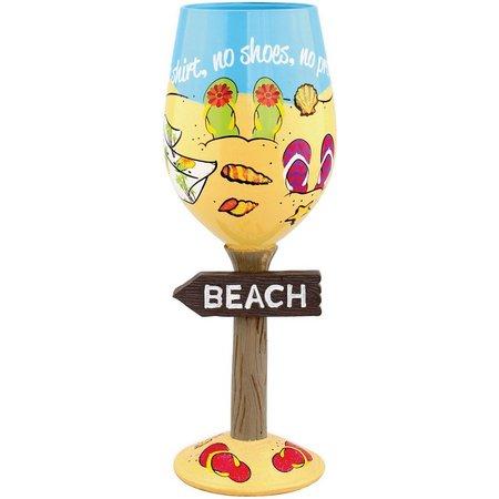 Style & Home 15 oz. Flip Flops Beach