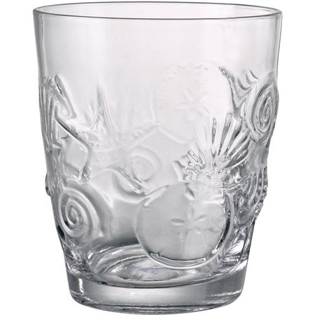 Artland Shells Double Old Fashion Glass
