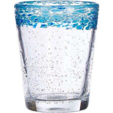 Artland 14 oz. Turquoise Mingle DOF Glass