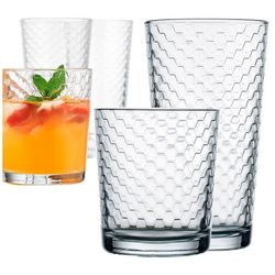 Home Essentials Honeycomb 8-pc. Glass Set