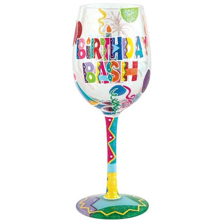 Lolita Birthday Bash Wine Glass