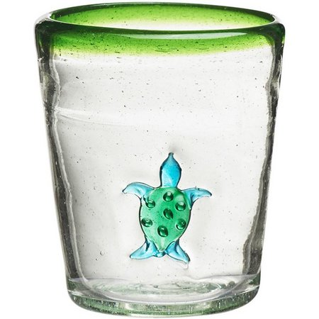 Amici Home Turtle Double Old Fashioned Glass