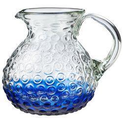 Amici Home Blue Hobnail Glass Pitcher