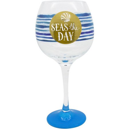 Coastal Home 18 oz. Seas The Day Wine