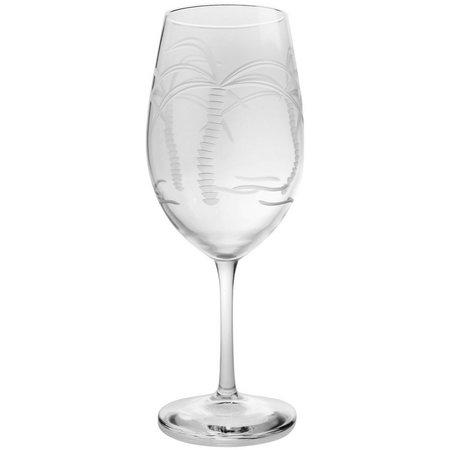 Rolf Glass Palm Tree 18 oz. Goblet