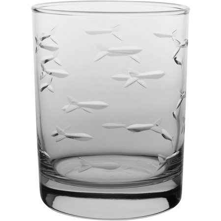 Rolf Glass 14 oz. Fish DOF Glass