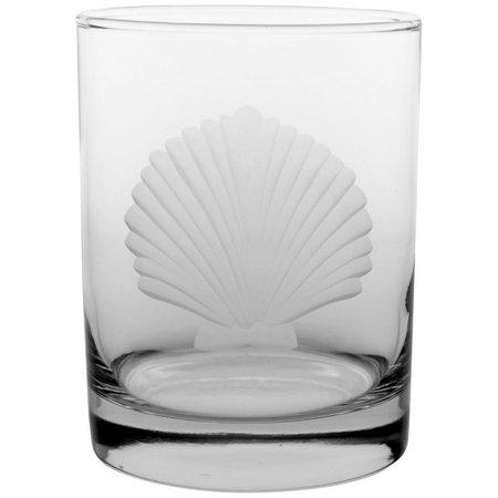 Rolf Glass Fan Seashell 4-pc. DOF Glass Set