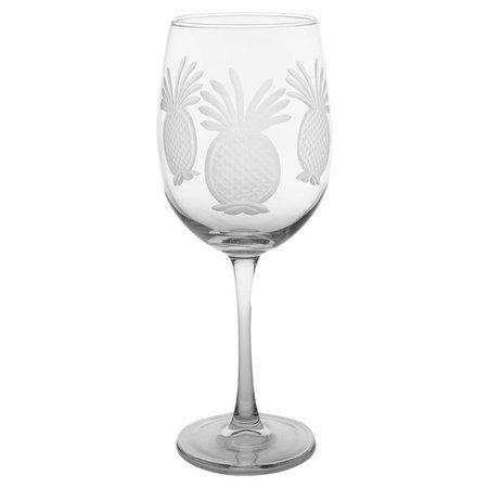 Rolf Glass Pineapple 19 oz. Goblet