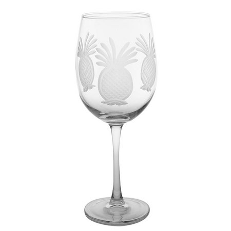 Rolf Glass Pineapple 18 oz. Goblet