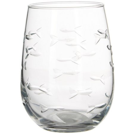Rolf Glass 17 oz. School of Fish Stemless